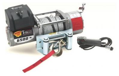 EW-6500 Improved OFF-ROAD лебедка электрическая 12В