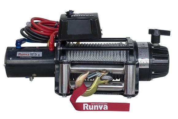 Лебёдка электрическая 24V Runva 12500 lbs 5670 кг (влагозащищенная) EWB12500S24V