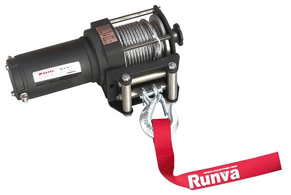 Лебёдка электрическая 12V Runva 3000A lbs 1361 кг EWX3000A