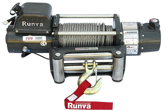 Лебёдка электрическая двухскоростная 12V Runva EWD10000U