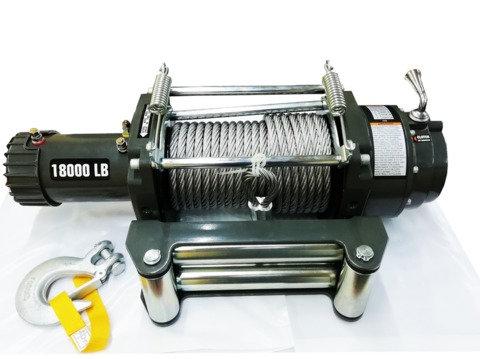 Лебедка автомобильная (индустриальная) 4REVO 18000 24V SAE J706