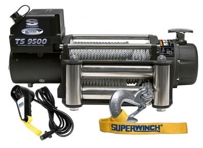 TigerShark 9500 лебедка электрическая 12В