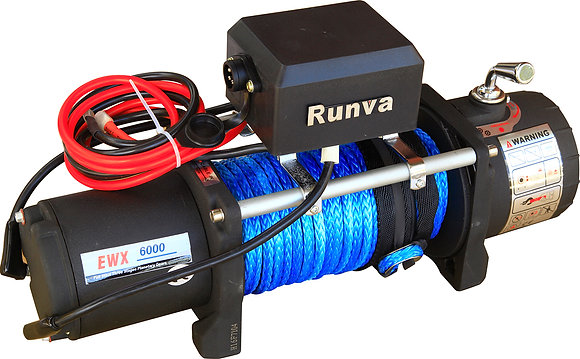 Лебёдка электрическая 12V Runva 6000 EWX6000SR