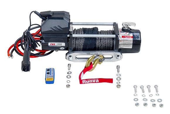 Лебёдка электрическая RUNVA 12V Magnum 12000 EWD12000FSR