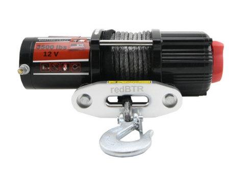 """Лебедка """"redBTR"""" серия """"QUATTRO SPORT"""" 3,5S 12V с синтетическим тросом"""