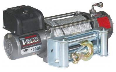 EW-11000 Improved OFF-ROAD лебедка электрическая 12В