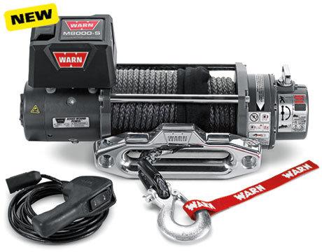 Лебедка электрическая WARN M8000-s (PN 88552)