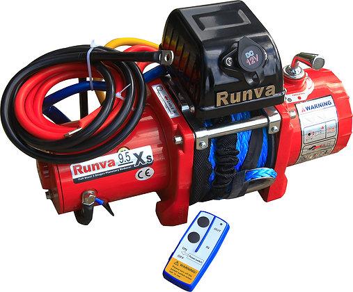 Лебёдка электрическая 12V Runva 9500 lbs 4350 кг короткий барабан 9.5XSR