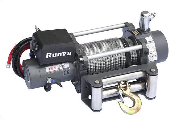 Лебёдка электрическая EWN15000U24VAC 24V Runva 15000  (c пневмороспуском)
