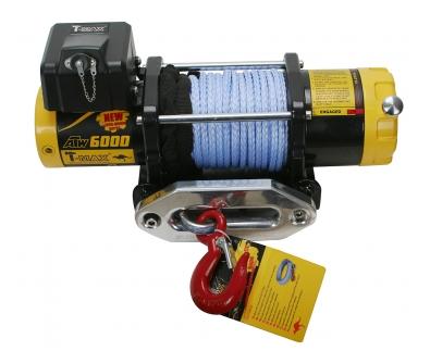 PRO 6000 лебедка электрическая 12В с синтетическим тросом