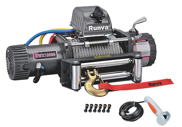 Лебёдка электрическая 12V Runva EWX12000S