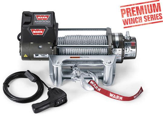 Лебедка автомобильная электрическая WARN M8000 ( PN 88502 )