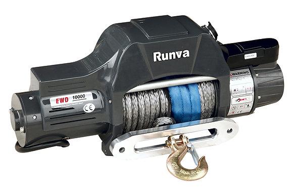 Лебёдка электрическая двухскоростная 12V Runva 10000 lbs
