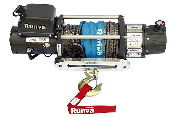 Лебёдка электрическая двухскоростная 12V Runva EWD10000USR 10000 lbs