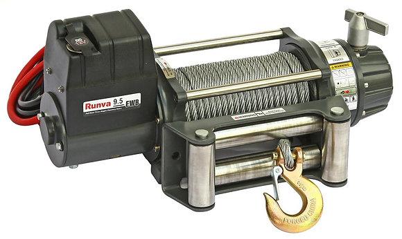 Лебёдка электрическая 12V Runva 9500 lbs 4350 кг (влагозащищенная) EWB9500U