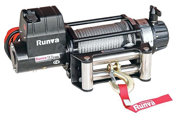 Лебёдка электрическая 24V Runva 12500 lbs 5670 кг (влагозащищенная) EWB12500U24V