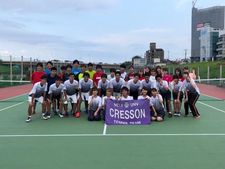 CRESSON テニスチーム
