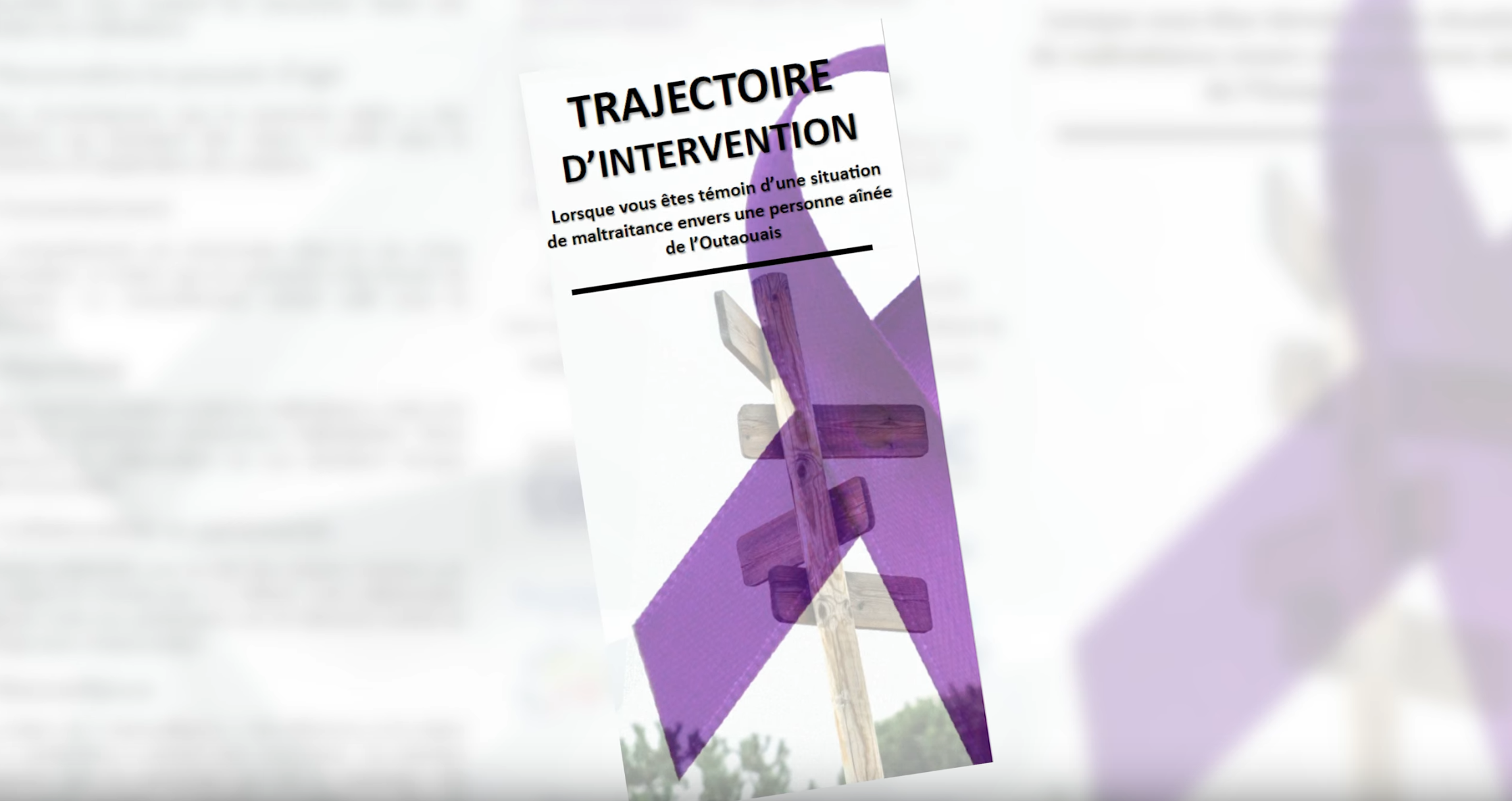 Trajectoire d'intervention