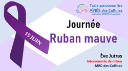 Journée Ruban-Mauve TAAC