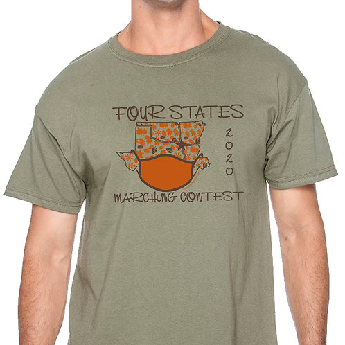 202 Four States Marching Contest T-Shirt
