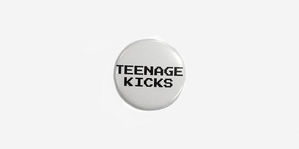 Эмалевый значок teenage kicks