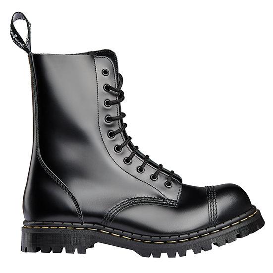 Gripfast black leather 10eye boot STC