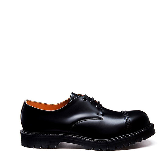 Solovair 3eye Gibson shoe STC Black