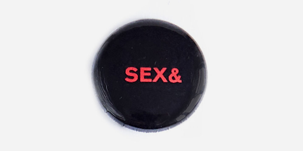 Эмалевый значок SEX& DRUGS& ROCK& ROLL