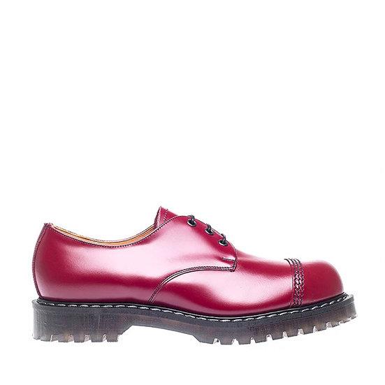 Solovair 3eye Gibson shoe STC Cherry Red