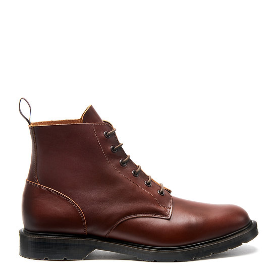 Solovair Chestnut 6eye Derby boots
