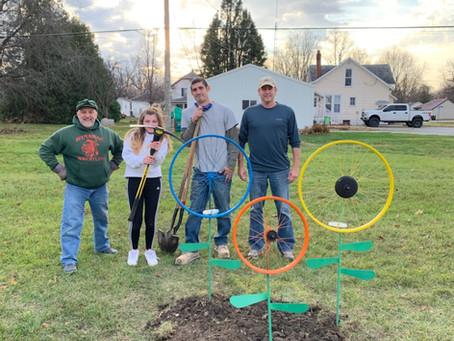 Pulaski County Tribe Planting Positive Vibes in Pulaski County