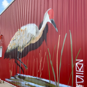 Crane Mural Offers Community Connections and Opportunities for Collaboration