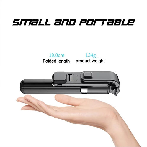 3 in 1 Selfie Tripod with Remote Control
