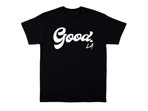 Black Tee by GoodLA