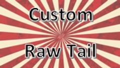 Raw Custom Tail Light Covers