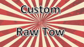 Custom Raw Tow Hitch Cover