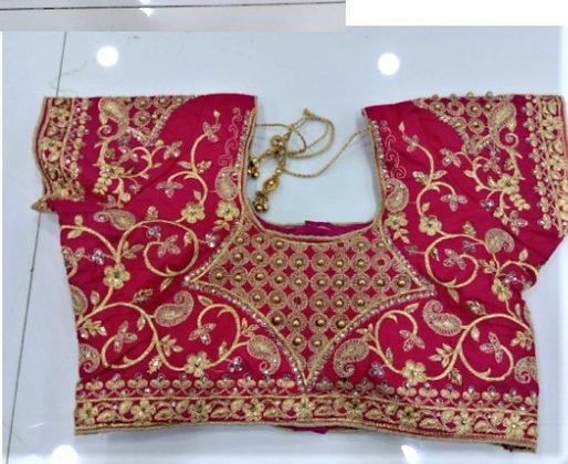 Red Fancy Blouse