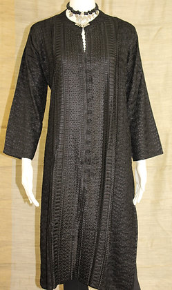 Black cotton Kurti ( XL )
