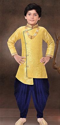 Gold Yellow boy Kurta
