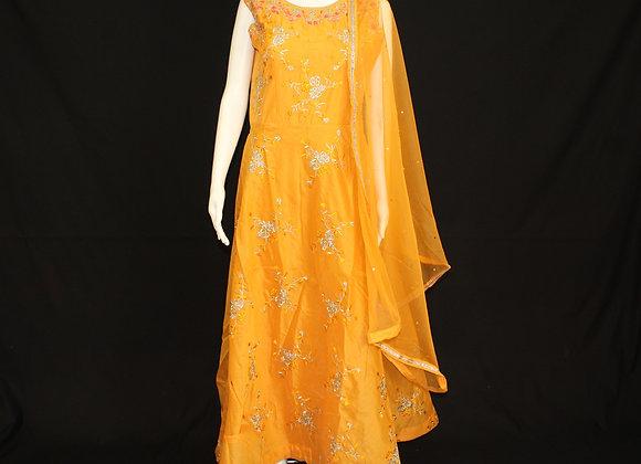 Mango Orange ready wear suit