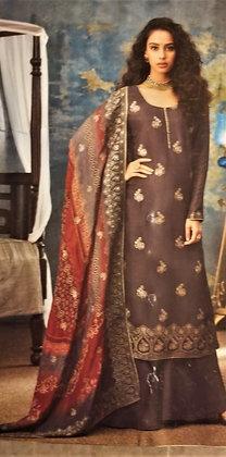 Fawn Silk Salwar Kameez