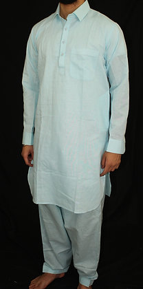 Light Blue Pathani Suit ( L )