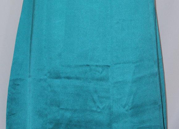 LIGHT BLUE SATIN PETTICOAT / UNDER-SKIRT FOR SAREES