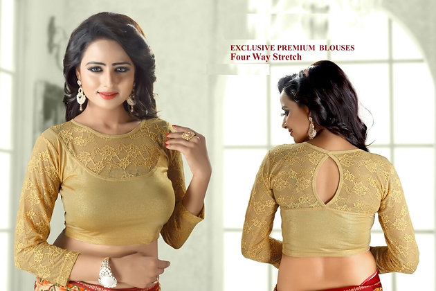 EXCLUSIVE PREMIUM BLOUSES (Gold - Style3)