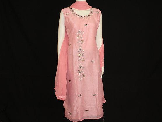 Pink ready wear suit