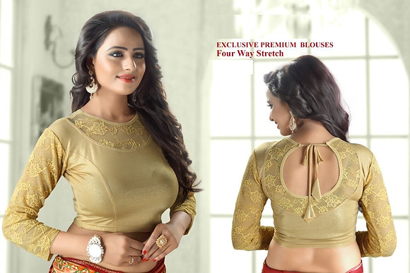 EXCLUSIVE PREMIUM BLOUSES (Gold - Style2)