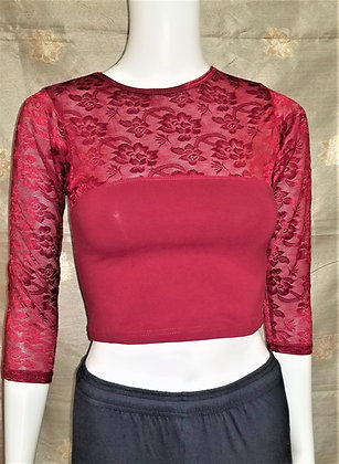 Red Stretchable Blouse - Style7