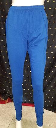 Blue Lycra Leggings