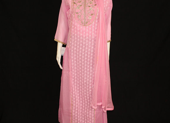 Pink ready wear suit