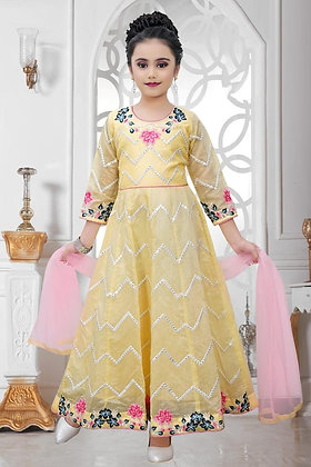 Light Yellow Child Dress
